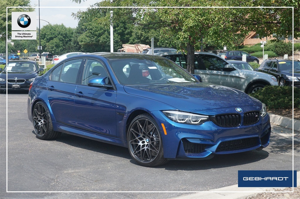 New 2018 BMW M3 With Navigation