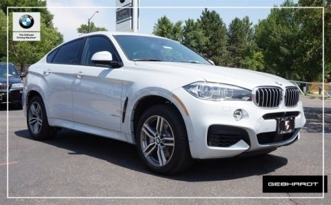 New 2017 BMW X6 xDrive50i